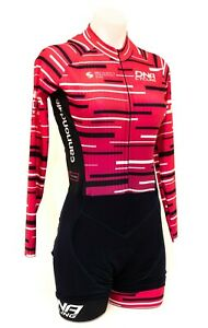 DNA Cycling DNAK4 Pro Team Long Sleeve Skinsuit Women XS Pink Road Bike Race TT