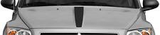 Hood Center Vinyl Graphic Decal Stripes for Dodge Caliber 2007-2012