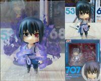 Anime Naruto Shippuden Uchiha Sasuke Model 707 Cute Action Figure Toy Gift