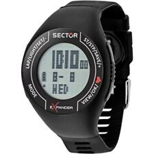 Orologio Cardiofrequenzimetro SECTOR EXPANDER R3251473001 Silicone Nero
