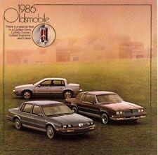 1986 OLDSMOBILE Brochure/Catalog:CUTLASS,CIERA,CALAIS,442,Brougham,Cruiser{1/86}