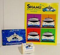 "Seaworld Whale Shamu Across America Fun Book & 100 Stickers 2"""
