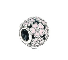 Authentic Pandora Pink Primrose Meadow Charm.