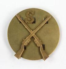 Insigne métallique Anglais de qualification Sniper ww2  (matériel original)