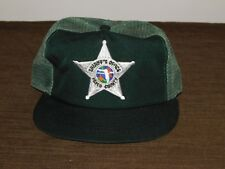 POLICE BASEBALL CAP HAT SHERIFF'S OFFICE PASCO COUNTY  NEW
