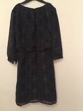 Ladies Long Sleeved Dress Size XS Uk By FOREVER 21
