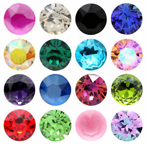 Genuine AURORA A1088 Chaton Round Stones Crystals * More Colors & Sizes