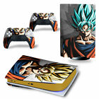 Dragon Ball PS5 Disc Version Skin for Console & Controllers Full Vinyl Sticker