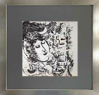 Marc CHAGALL LITHOGRAPH Limited Edition ORIGINAL + Village '57++Archival FRAMING