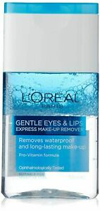 125 ml  L'Oreal Paris Lip Make-Up Remover Dermo Expertise, Free Shipping