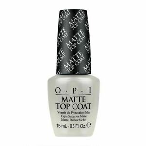 OPI Matte Top Coat  - 15ml - Mattify your Nails - Industry Leading brand