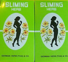 100 BAGS GERMAN HERB SLIMMING DIET TEA FAT BURN SLIM FIT FAST DETOX LAXATIVE