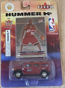 2004 Fleer H2 Hummer Lebron James Rookie Die Cast Los Angeles Lakers!!!!!!!