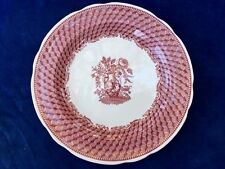 Antique SPODE Cranberry Red PORTLAND VASE Victorian Circ 1832 Plate Charger RARE