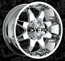 Fuel Octane D508 20x9 5x5.5/5x150 ET20 Chrome Rims (Set of 4)