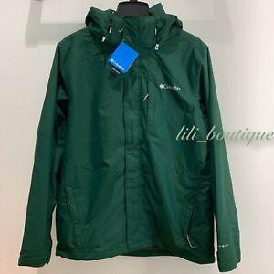 NWT Columbia 1878951 Men Arctic Trip III Fleece Interchange Jacket Green Grey XL