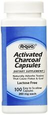 Requa Activated Charcoal, 260 mg, 100 Count