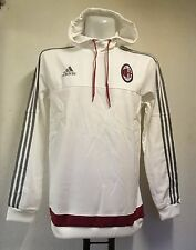 AC MILAN HOODED SWEATSHIRT BY ADIDAS ADULTS SIZE LARGE BRAND NEW WITH TAGS