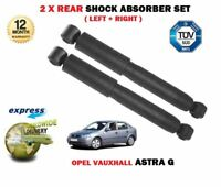 FOR VAUXHALL ASTRA G 1998-2006 NEW 2x REAR LEFT RIGHT SHOCK ABSORBER SET