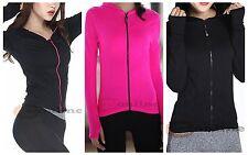 Women's Training Hood Jacket Seamless Long Sleeve Fast-drying Fabric