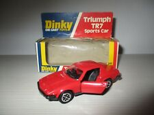 TRIUMPH TR7 SPORTS CAR 211 DINKY TOYS SCALA 1:43