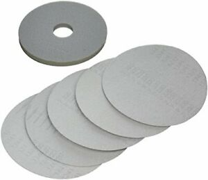 """Porter Cable 79220-5 Sander Pad & 220 Grit Hook and Loop Discs, 8-7/8"""", 5-Pack"""