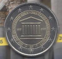 2 Euros Belgica 2ª 2017 Universidad de Gante Emision nº 19