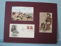 Custer's Last Stand  & Sitting Bull First day Cover