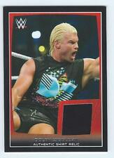 DOLPH ZIGGLER 2015 Topps WWE Road to Wrestlemania Shirt Relic