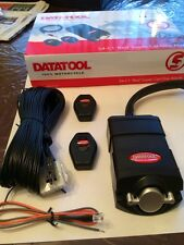 Triumph Datatool S4 Red Motorbike Alarms Supplied & Fitted Call 07739540000