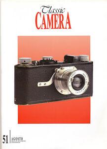Classic Camera N.51 Agosto 2004 rivista in italiano collezionismo fotografico