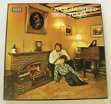 various YOUR HUNDRED BEST TUNES 10LP BOX 1975 Decca BBC rec.