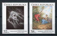 Czech Republic 2017 MNH Art of Taras Kuscynskyj & Norbert Grund 2v Set Stamps