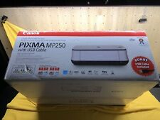Canon PIXMA MP250 All-In-One Inkjet Printer NEW Factory Sealed.