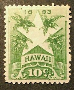 HAWAII  SCOTT  #77    MINT--LH