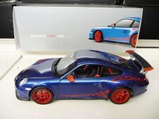 1:18 NOREV PORSCHE Porsche 911 997 GT3 RS blau/rot NEU NEW