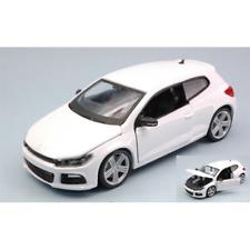 VW SCIROCCO R 2014 WHITE 1:24 Burago Auto Stradali Die Cast Modellino