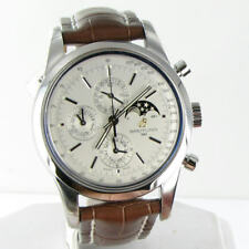 Breitling Transocean Chronograph 1461 Automatic Silver Dial Watch A1931012/G750