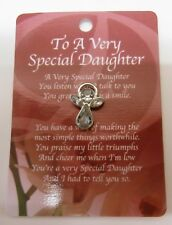 'To A Very Special Daughter' Angel Pin New, a great gift