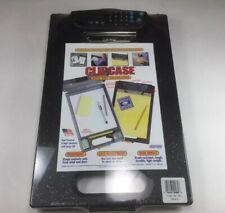 Dexas Clipcase with Tilt Calculator Storage Clipboard, Black 1718-50-63