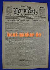 VORWÄRTS (25. Mai 1920): Holländischer Sozialistentag