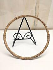 "Natural Bamboo 8"" Hoop Crafting Macramé Dreamcatchers Plant Hangers Purse Part"