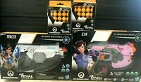 Nerf Rival Overwatch Tracer & D.va Blasters - 2 Guns Combo and 60 Rounds Ammo