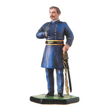 Tin Toy Soldier US Civil war Northerners General George B. McClellan 54mm #5.57