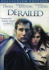 DERAILED - JENNIFER ANISTON - CLIVE OWEN  - NEW DVD! REGION 1
