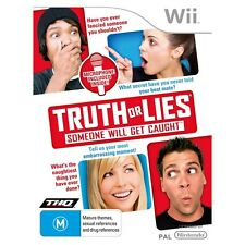 Brand New Truth or Lies for Nintendo Wii - Microphone Included