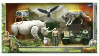 JUMANJI ULTIMATE COLLECTION TOY SET NEW Staring WWE Wrestler The Rock