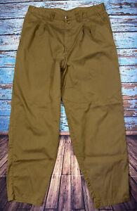 Mens PATAGONIA Pants Size 40 Brown 33 Inseam Outdoor Hiking