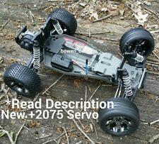 Traxxas Servo ROLLER Tire Wheel Rustler VXL Brushless RC Kit 1:10 2WD Bandit New