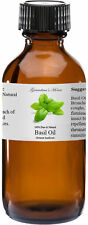 Basil Essential Oil - 2 oz 100% Pure and Natural Free Shipping - US Seller